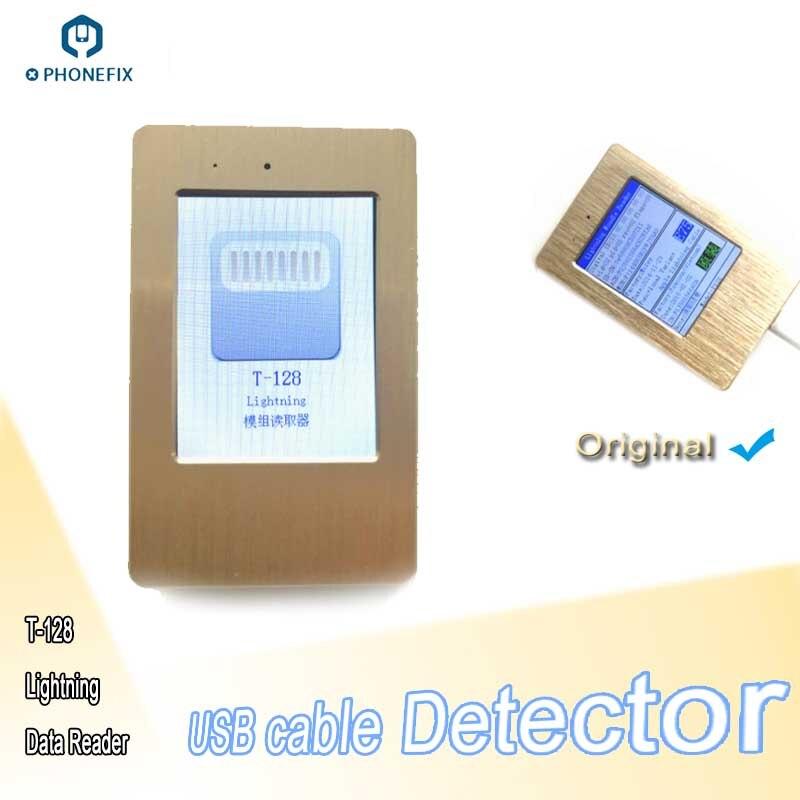 PHONEFIX Mini USB câble détecteur téléphone charge câble testeur pour indendifier Original ou faux câble données lecture outil vérificateur