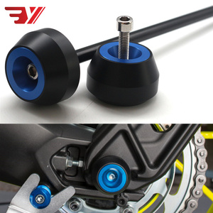 For SUZUKI GSX-S750 2017-2018 GSXS750 CNC Modified Parts Motorcycle Drop Ball Shock Absorber Wheel Pin Protector MOTOR GSXS 750(China)