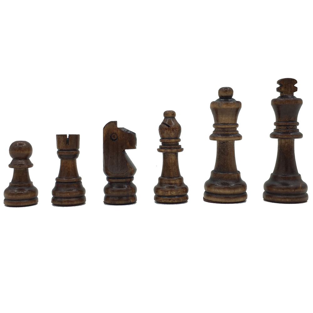 цены Wooden Chess Set Folding Chessboard With Magnetic Pieces Board Size 39 cm x 39 cm Children Gift Tournament Chess Board Games