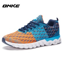 2016 Men's Running Shoes Gym Sports Lightweight Sneakers High Quality Mesh For Running Man Zapatillas Deporte Hot Sale