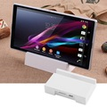Magnetic Charger Charging Dock Docking Station Cradle For Sony Xperia Z1 L39H Xperia Z Ultra XL39h-white