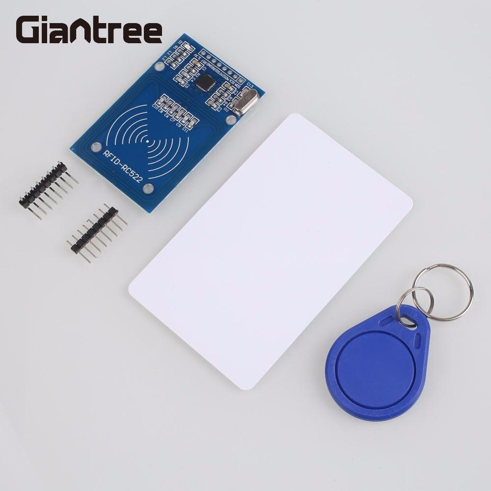 Giantree 13.56MHz MFRC-522 RC522 Radiofrequency RFID NFC IC Card Sensors Module Antenna RFID IC Wireless Module For Arduino 8675 ccbhp new tab cof ic module