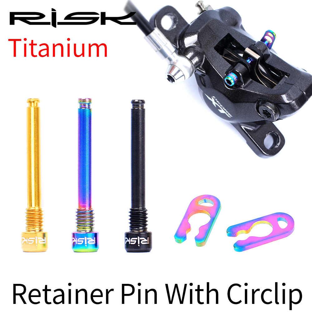 Bolt Bicycle Parts Titanium Retainer Pin Brake Pad Lining Caliper Threaded Pins
