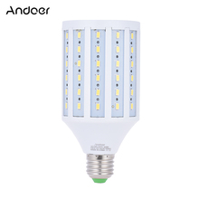 Andoer Fotoğraf Stüdyosu Fotoğraf 40 W led mısır rengi lamba Ampul 90 Boncuk 5500 K E27
