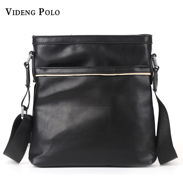 a7a7894bc523 VIDENG POLO Brand Fashion Leather Shoulder Bag Male Business Briefcase  Messenger Bag Men s High Quality Crossbody