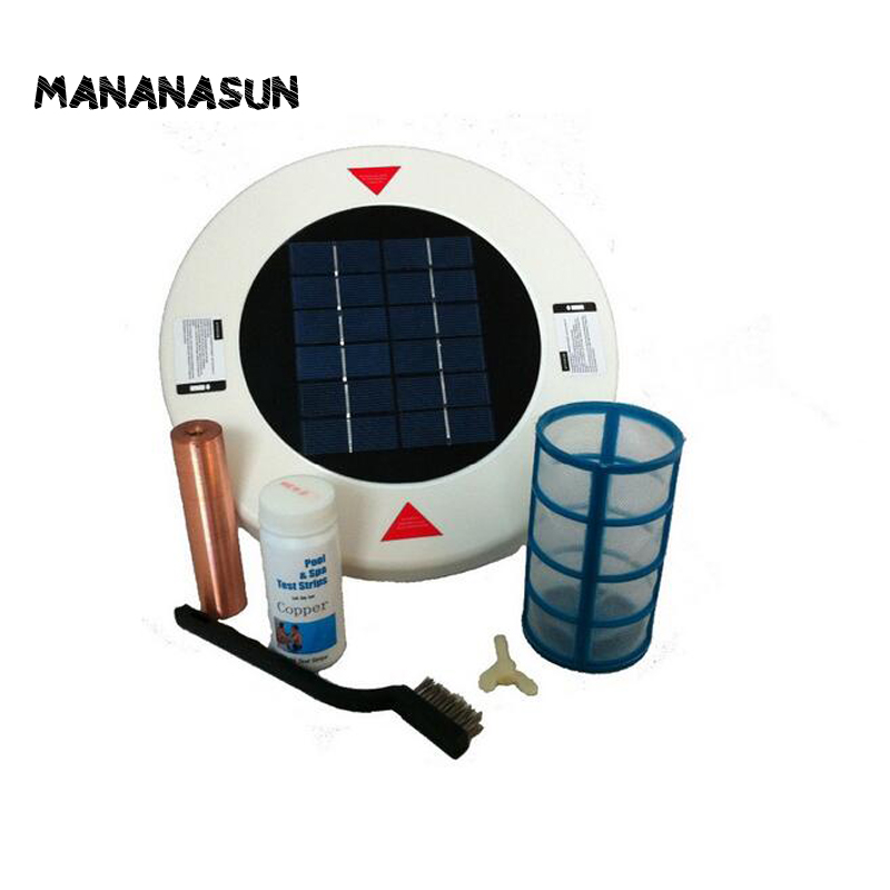 Solar Pool Ionizer Extral Copper Anode Chlorine Free Solar Pool Purifier Water Purifier For