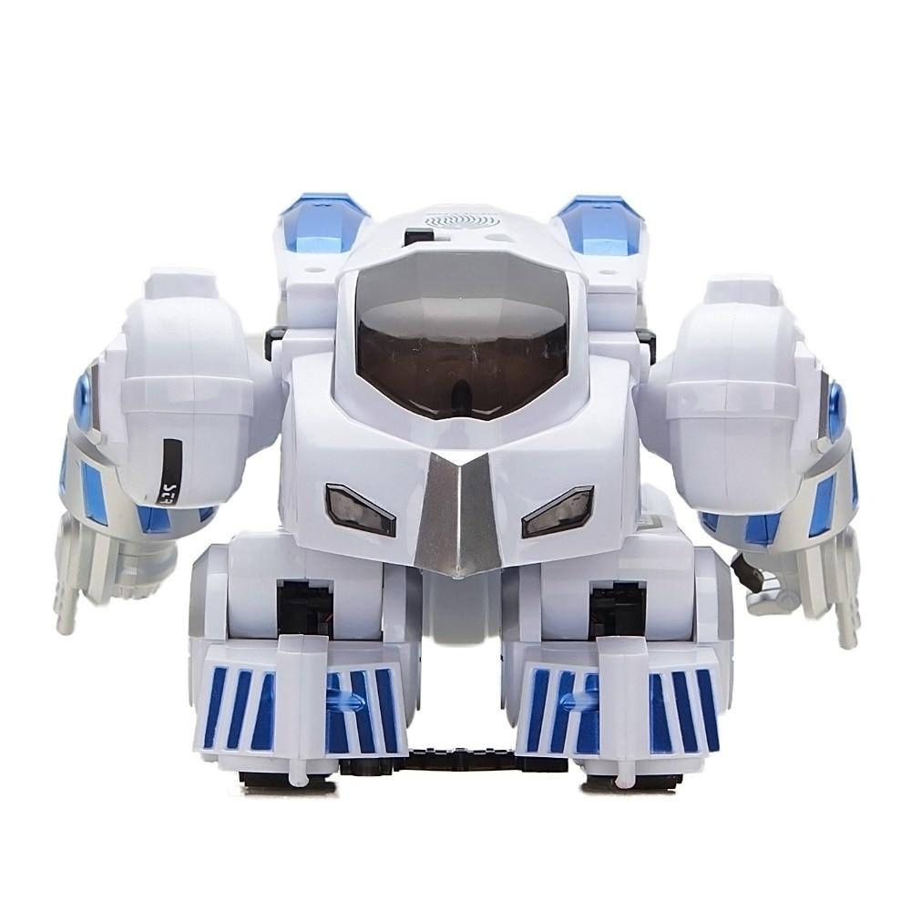 Robot di Controllo remoto RC Impronte Digitali Trasformare Intelligente Da Passeggio Danza Intelligente Programmabile Robot Giocattoli con Luce e SuonoRobot di Controllo remoto RC Impronte Digitali Trasformare Intelligente Da Passeggio Danza Intelligente Programmabile Robot Giocattoli con Luce e Suono