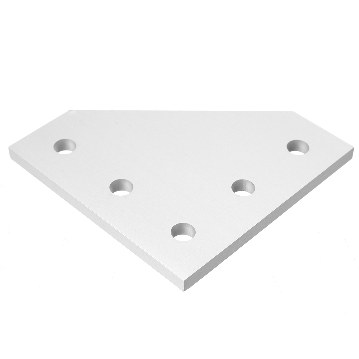 Mayitr 90 Degree Joint Board <font><b>Plate</b></font> <font><b>Corner</b></font> Angle Bracket Connection Joint Strip for Aluminum Profile <font><b>2020</b></font> with 5 Holes image