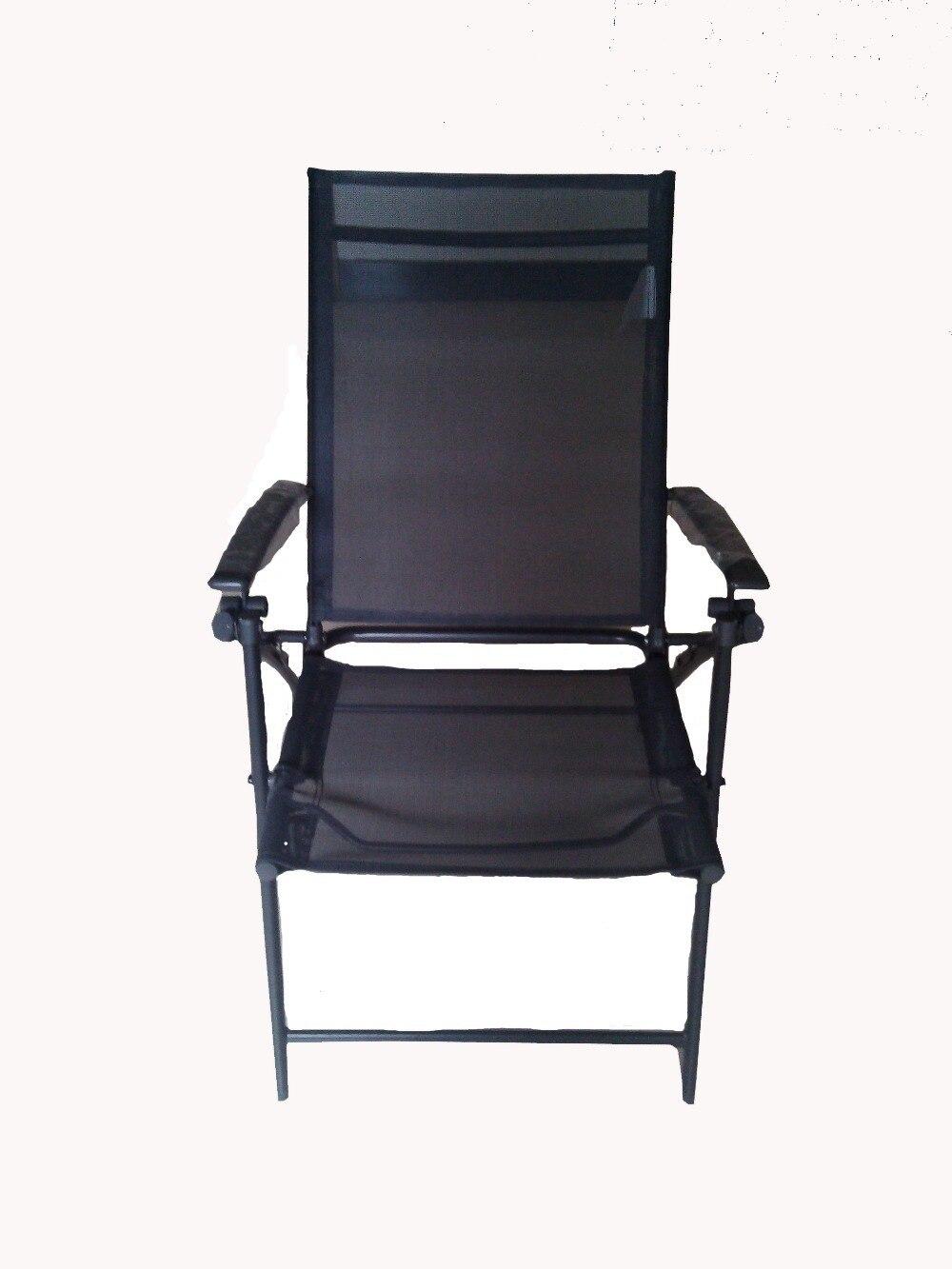 Superior Fashion Leisure Outdoor Folding Chair Metal Garden Mesh