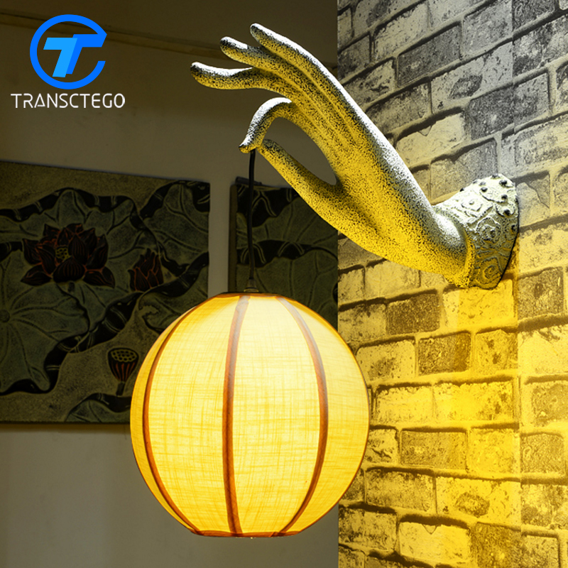 New Chinese Antique Wall Light Decoration Personalized Restaurant Lights Retro Classical Bedroom Corridor Wall Lamp chinese style classical wooden sheepskin pendant light living room lights bedroom lamp restaurant lamp restaurant lights