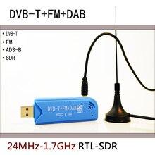 Oprogramowanie radiowe RTL2832U + R820T2 RTL SDR ADS B DVB T DAB SDR odbiornik