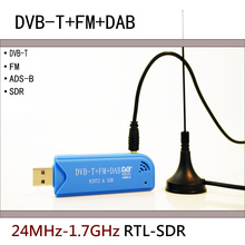 Software Radio RTL2832U+R820T2 RTL-SDR ADS-B DVB-T DAB SDR Receiver 100k 1 7ghz software radio full band rtl sdr receiver aviation short wave