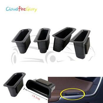 CloudFireGlory para Volvo XC60 2009, 2010, 2011, 2012, 2013, 2014, 2015, 2016 4x frontal interior + puerta trasera manejar caja recipiente de almacenamiento de apoyabrazos
