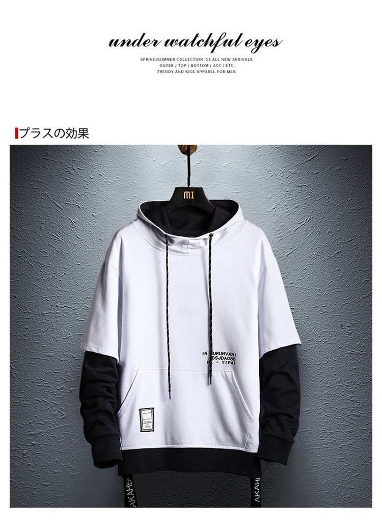 HTB144yCaKL2gK0jSZFmq6A7iXXaA - Hoodie Sweatshirt Mens Hip Hop Pullover Hoodies Streetwear Casual Fashion Clothes colorblock hoodie cotton