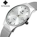 Original Mens Watch Ultra Thin Luxury Stainless Steel Sport Watches Casual Wristwatch with Japan VJ32 Quartz Movement