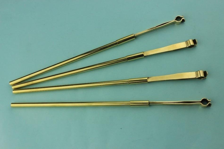 1 Piece High Quality Violin Sound Post Retriever Tool Copper Metal