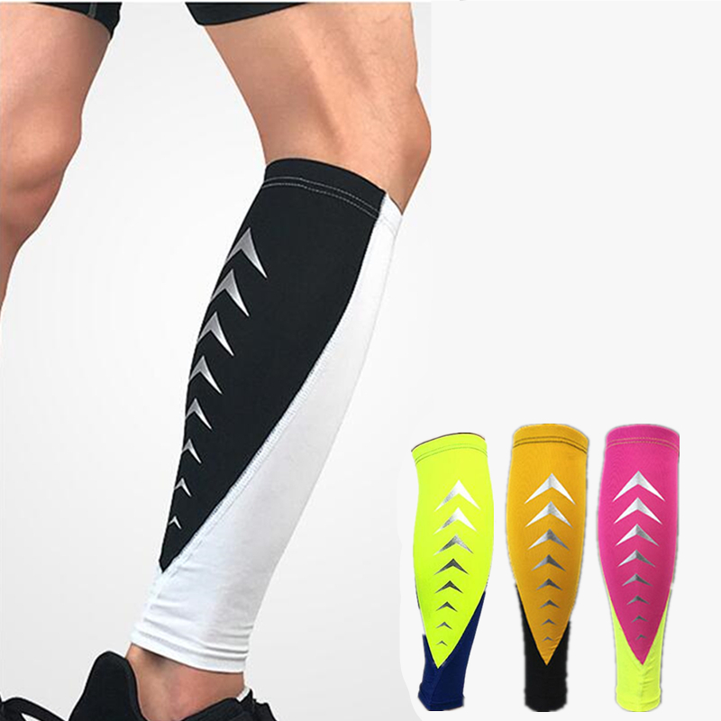 New Sport Calf Compression Sleeve Seamless Leggings Leg Improved Leg Circulation Pain Relief Sock Protector Shin Guard 1PCS