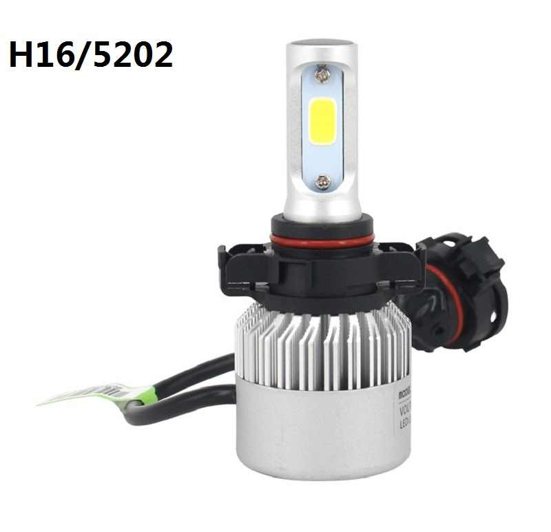 2Pcs Car Fog Lights PSX24W H16 H11 H8 H10 9006 HB4 LED 50W Lamp For VW bora jetta golf 7 passat b5 b6 mk4 beetle caddy touareg