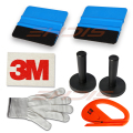 8 Tint Tools Kit Magnets, Felt Scraper,3M Wool Squeegee,Vinyl Cutter,Gloves USA AT025