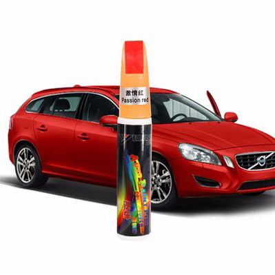 YIJINSHENG 1Pcs Car Remover Scratch Repair Paint Pen Waterproof Car Fix Painting Pen Red Scarlet Auto paint Car Care