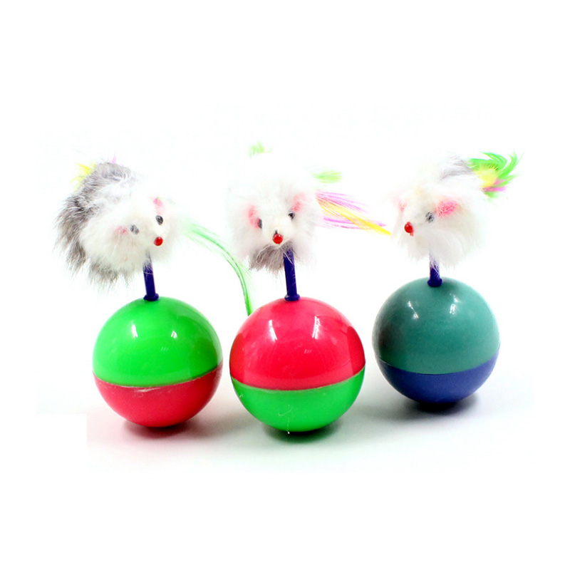 A mouse is a lionPet cat toys interactive Cheap Mini Funny Mice & Animal Playing Toys For Cats Kitten 11*5.5cm