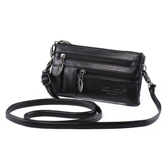 0c8162d04aaeb Katloo frauen Aus Echtem Leder tasche Kleine kreuzkörper Handtasche  Schultertasche Armband Handtasche Geldbörse Kupplung mit Doppelband