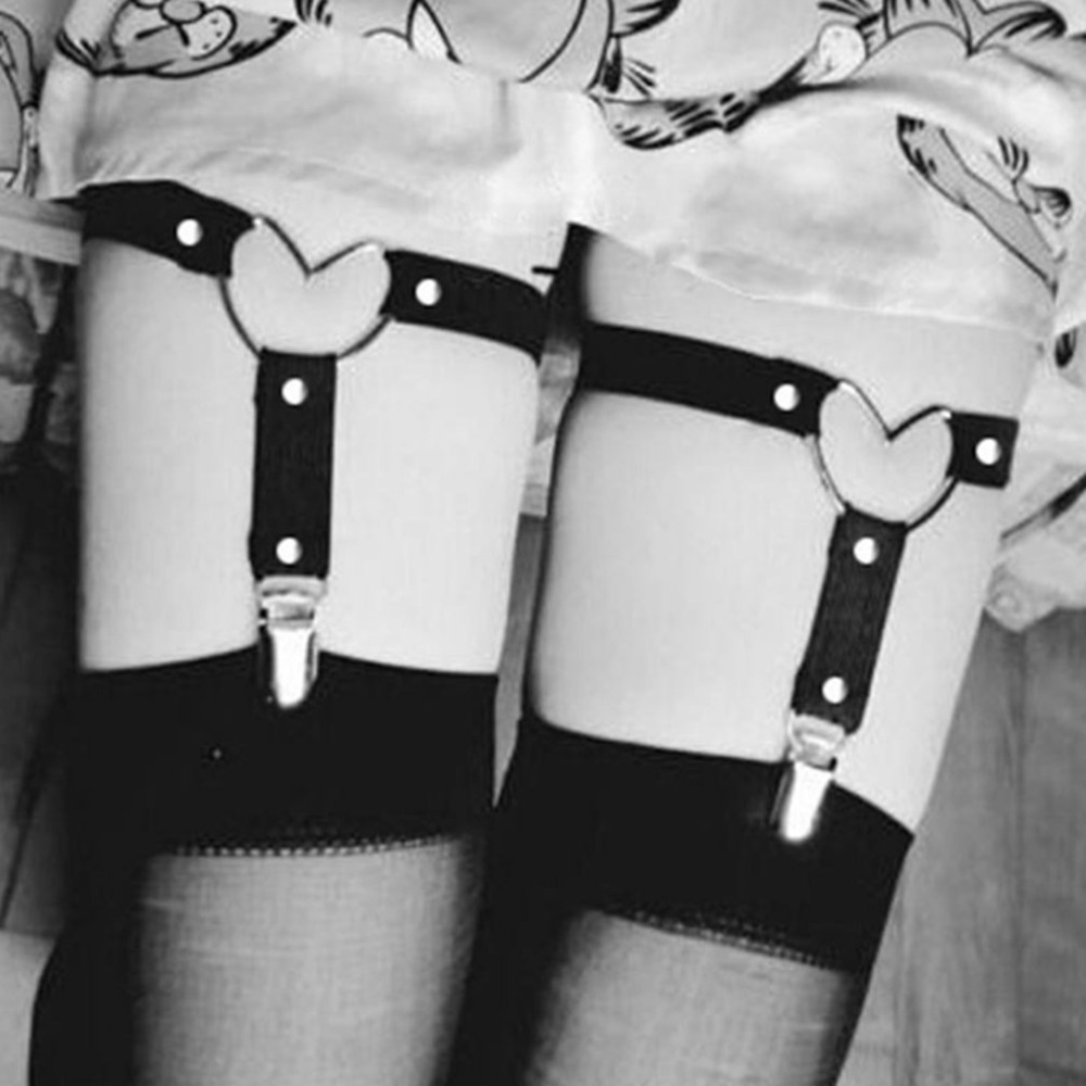 Frauen Hemd Strumpf Gürtel Europäischen Amerikanischen Fashon Damen Einstellbare Bein Strap Clip Strumpfband Oberschenkel Strümpfe Strap Strumpfband Bekleidung Zubehör