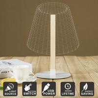 USB 3D Visual Table Lamp Acrylic LED Nightlight Novely Desk Lamp Home Decoration Perfect Gift Tiny