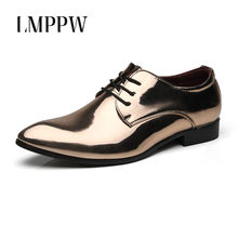 beb7129223 Gold Shoes Men Prom Promotion-Shop for Promotional Gold Shoes Men ...