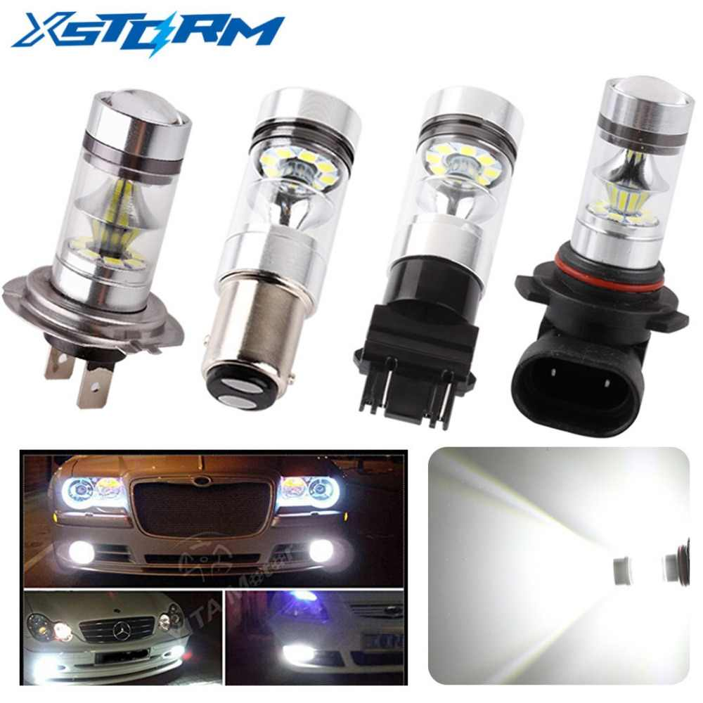 2Pcs LED H7 H8 H11 9006 HB4 BA15S BAY15D 7443 12V~24V 20 SMD Car Fog Lights Day Running Lights Auto Leds Light