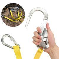 Ремни безопасности, ремни для скалолазания на открытом воздухе, ремни для защиты от падения с большими крючками, карабин