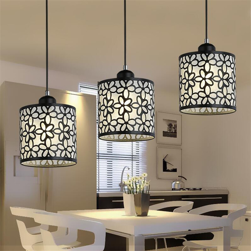 LED Lusters Pendant Lights Luminaire Vintage Suspended Lamp Chandeliers and Pendants for Dining Room Abajour E27 Aisle Lights white crystal pendants chandeliers lights vintage pendant lamp for living room bedroom europe style pendant lamps home lighting
