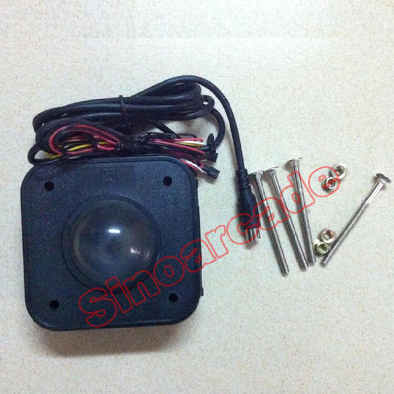 Arcade Game 4 5CM Illuminated LED Trackball mouse PS/2 PCB connector for  arcade game machines