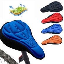 цена на Bicycle Saddle 3D Soft Bike Seat Cover Comfortable Foam Seat Cushion Cycling Saddle for Bicycle Bike Accessories