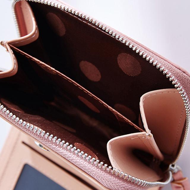 Women's Short Tassel Decorated Wallets