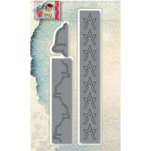 YaMinSanNiO 3 Pcs/lot Metal Cutting Dies Scrapbooking For Card Making DIY Embossing Cuts New Craft Long Strip Decoration