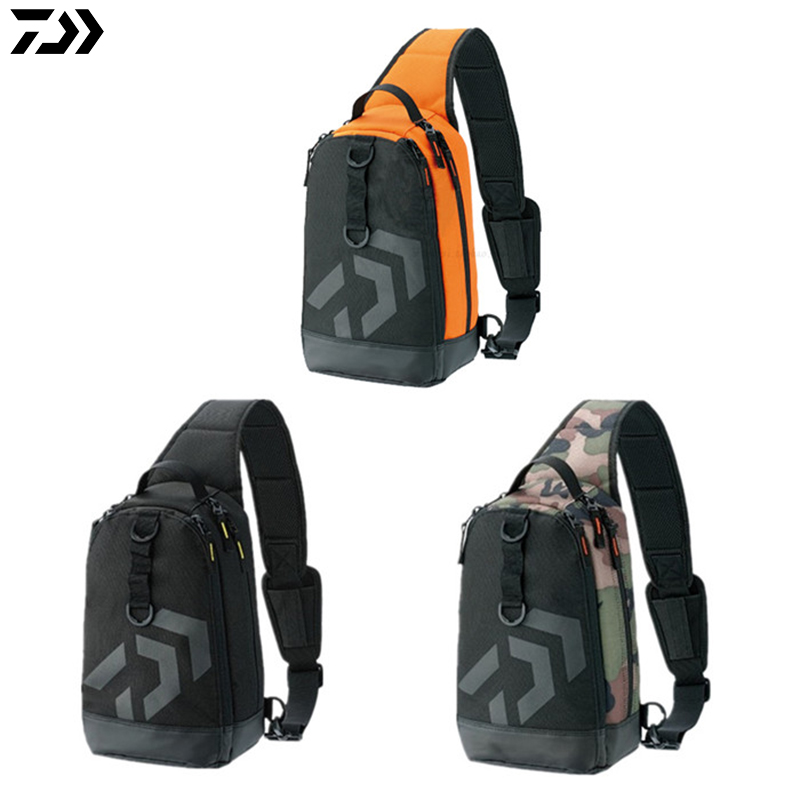 235502d3d17 DAIWA Portable Multi-functional Fishing Tool Storage Bag Leisure Shoulder  Bags Fishing Pesca Lure Package Crossbody Bag