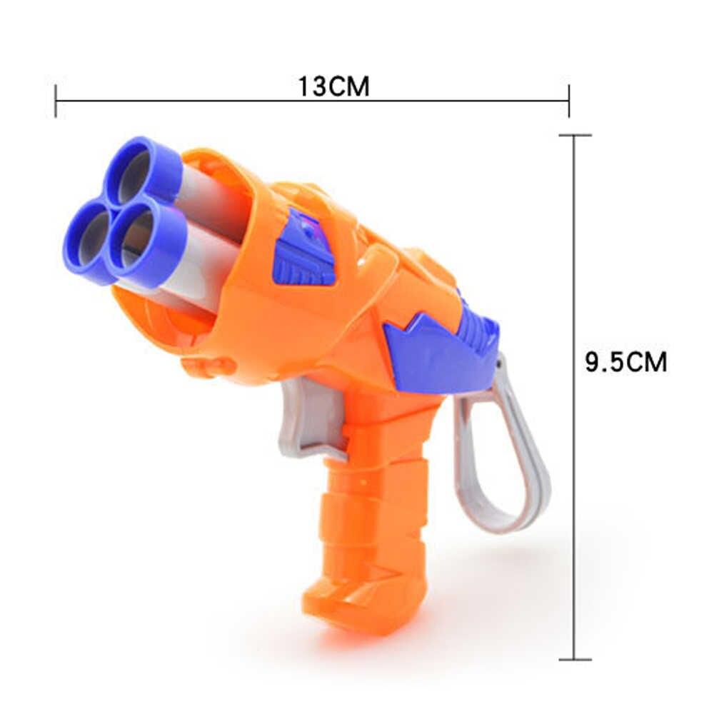 Viciviya Kinderen Speelgoed Zachte EVA Kogel Speelgoed Pistool voor Nerf N-Strike Bullet Darts Ronde Hoofd Blasters EP Kinderen educatief Speelgoed Guns