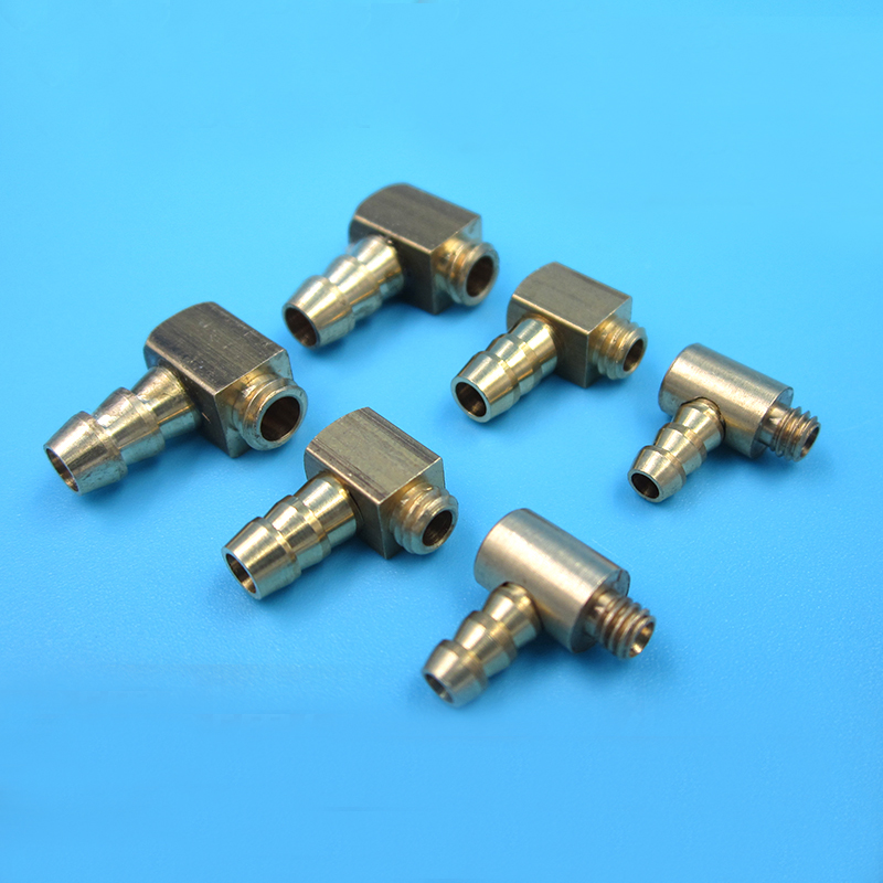 US $9 49 5% OFF|6pcs M4 M5 M6 L shaped Copper Fuel Nozzle Threaded Water  Nipples Water Pickup Brass Oil Faucet for RC Nitro/Methanol Boat Parts-in
