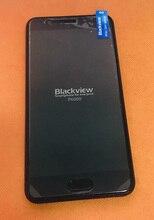 """Oryginalny lcd wyświetlacz + ekran dotykowy Digitizer + rama dla Blackview P6000 Helio P25 octa core 5.5 """"FHD darmowa wysyłka"""