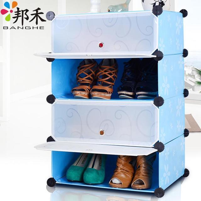 Simple Shoe Storage Cabinet Lockers Resin Shoe Storage Box Toy Storage  Drawers