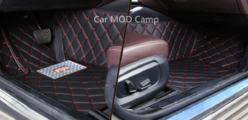 коврики Bmw 5 серии | Для BMW 5 серии F10 2014 2015 2016 кожаный салон Ковёр пол Коврик автомобилей ног Коврик 1 компл. стайлинга автомобилей аксессуары!