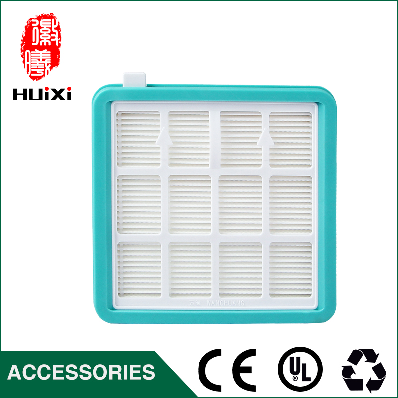 130*125*34mm size blue hepa filter the original filter cartridge of vacuum cleaner parts air hepa filter D-928  D-929 142 126mm size plastic and steel wire frame hepa filter and the original of hepa vacuum cleaner parts for gy308 15l gy309 18l
