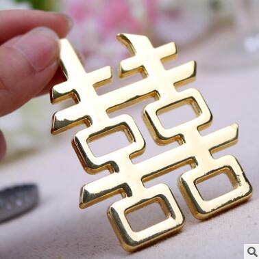 2018 Chinese Traditional Gold Wine Bottle Openers Creative Beer Opener Favors And Gifts Souvenirs For Guests Table Centerpieces