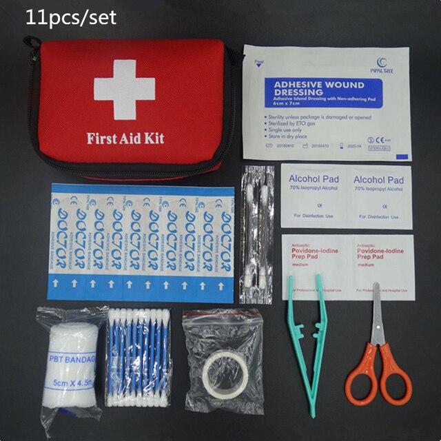 Vente chaude D'urgence sac de survie Mini Famille de Premiers soins Kit Sport Voyage kits À La Maison Médicale Parking Extérieur de Premiers soins sac