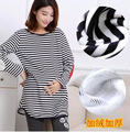 Autumn loaded pregnant women with long sleeved T-shirt shirt + Leisure spring and autumn women fashion pregnant women 152421E