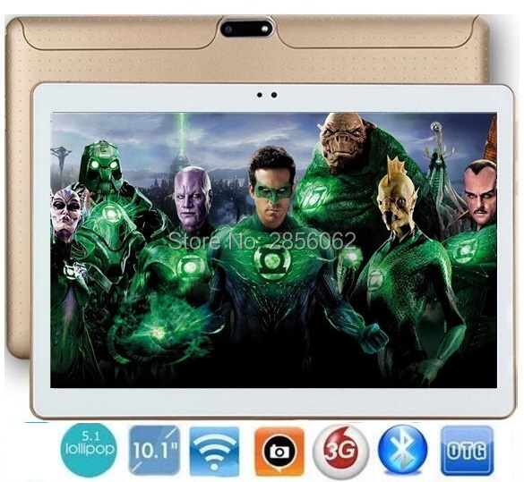 10 inch Android tablet pc 3G WCDMA Phone Pad Quad Core 1280*800 WiFi FM GPS Tablet 2GB+16GB