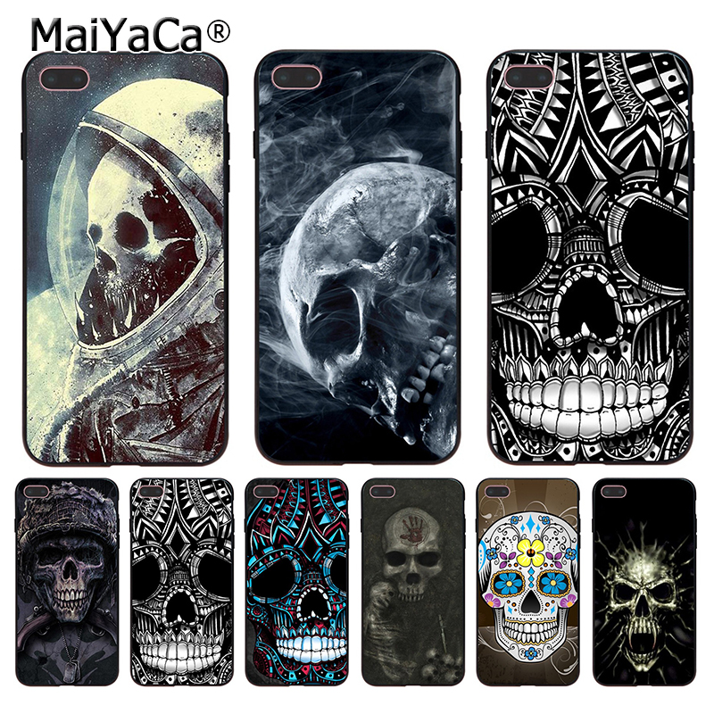 MaiYaCa Mexican sugar skeleton skull shape Pattern Style Accessories phone Case