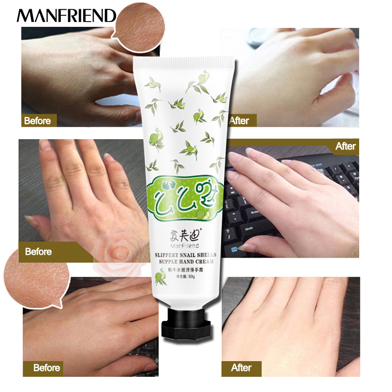 все цены на Snail Serum Repair Hand Cream Nourishing Hand Care Anti Chapping Anti Aging Whitening Firming Hand Cream Skin Care Beauty онлайн