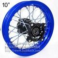 """Roda traseira 1.60 - 10 polegada jantes 10 """" para bicicleta da sujeira pit bike pequeno rodas traseiras pit bicicleta CRF peças de reposição"""